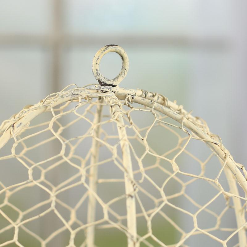 Chicken Wire Cloche - Baskets, Buckets, & Boxes - Home Decor