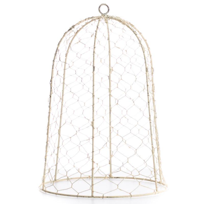Chicken Wire Cloche - Decorative Containers - Kitchen and Bath ...