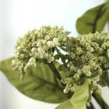 Green Artificial Queen Anne's Lace Bush