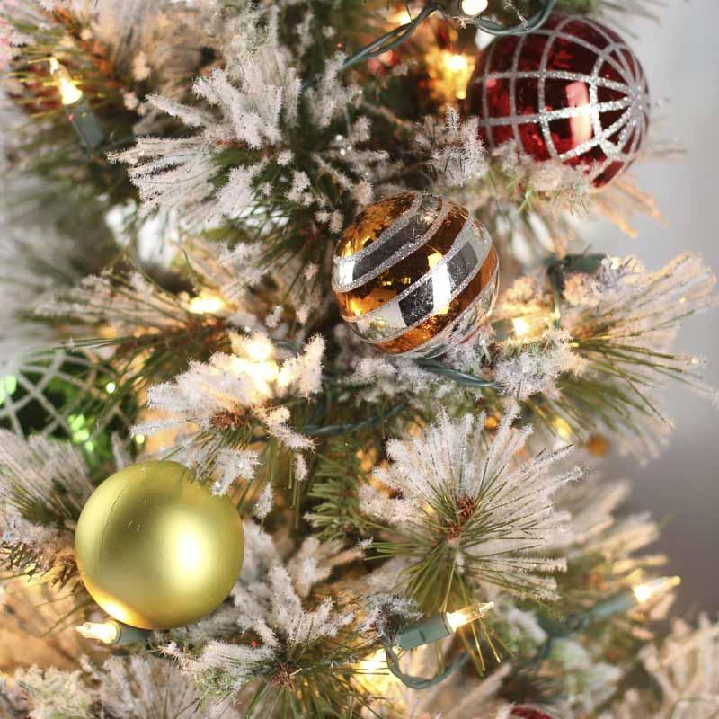 Pre Lit Tabletop Christmas Trees Artificial