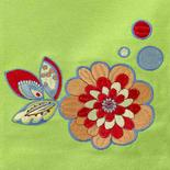 Sunny Garden Embroidered Cloth Dish Towel