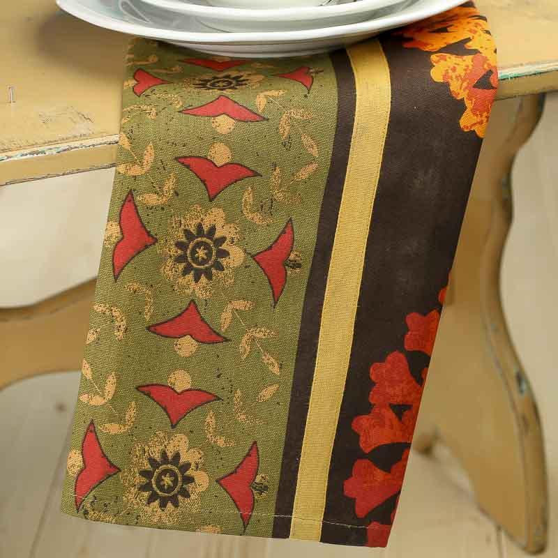 Dish Towel Sale: Tuscan Sun Print Cloth Dish Towel