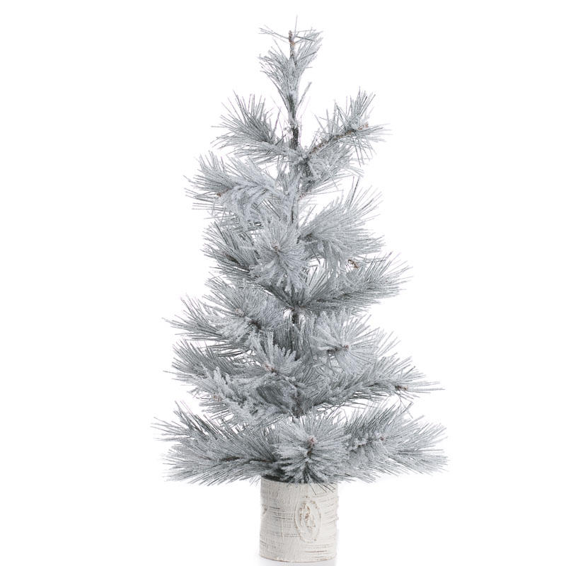 Snowy Sparkling Artificial Pine Tree Christmas Trees And