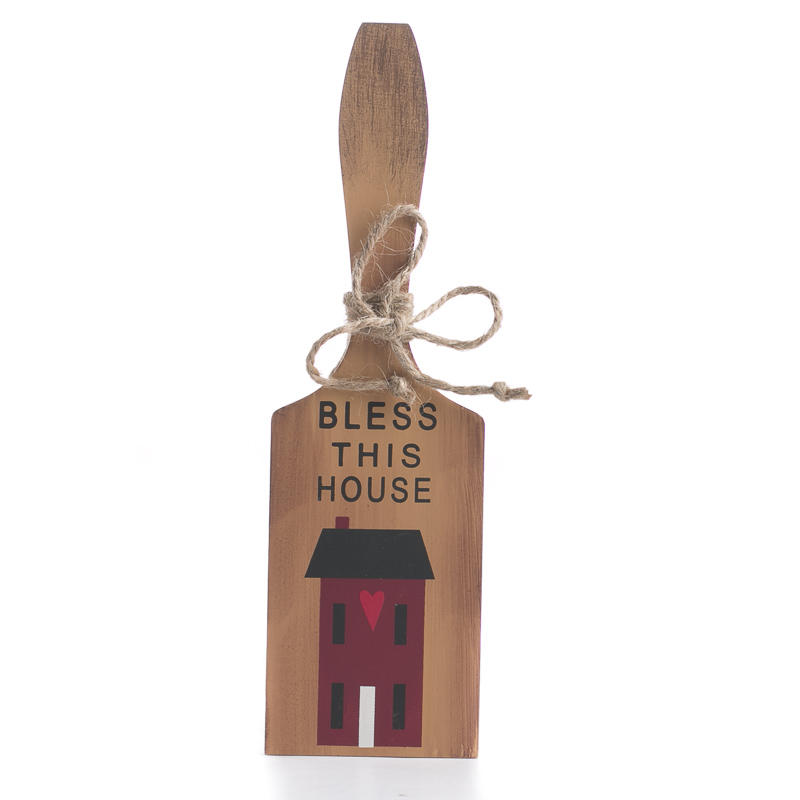 Primitive Quot Bless This House Quot Cutting Board Ornament Sign