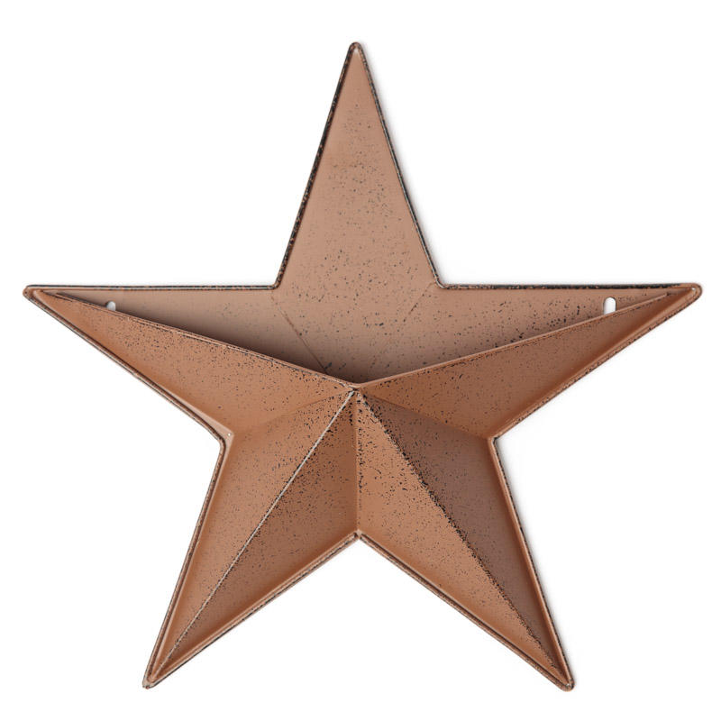 Rustic Star Wall Sconces : Rustic Barn Star Wall Pocket - Barn Stars - Primitive Decor