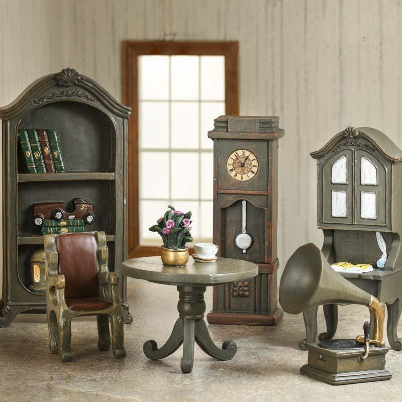 Dollhouse Miniature Living Room Furniture Set
