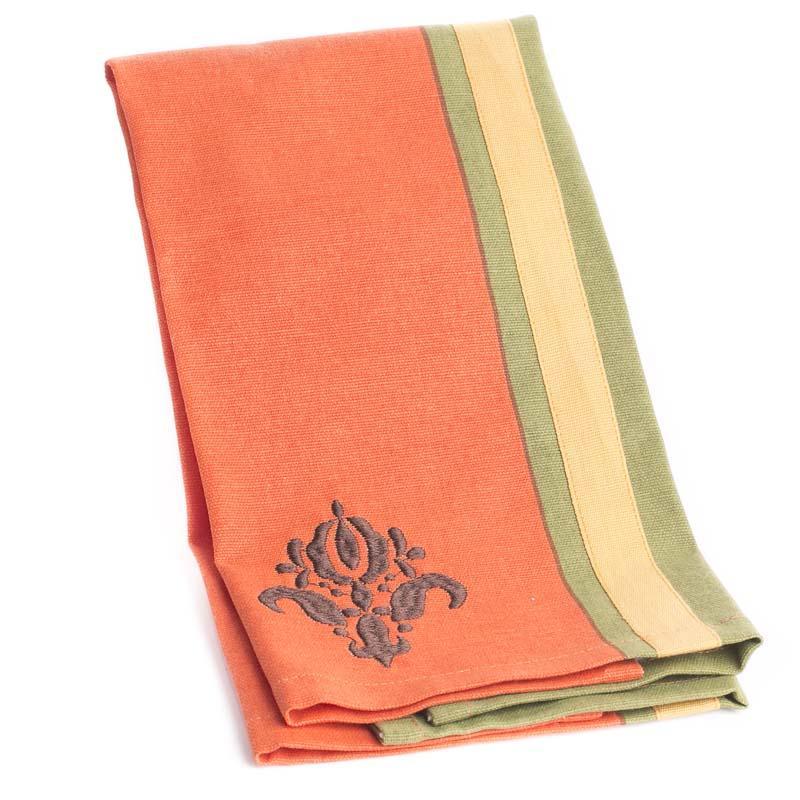 Dish Towel Sale: Tuscan Sun Damask Cloth Dish Towel