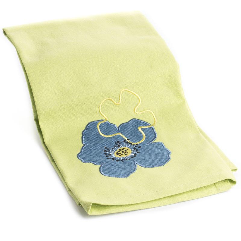 Olivia Embroidered Cloth Dish Towel