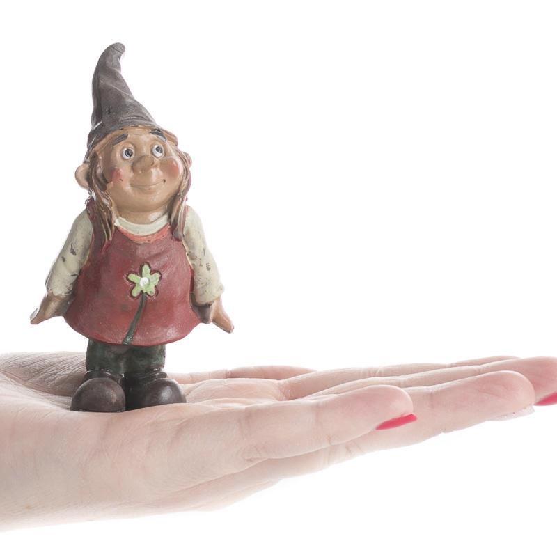 Garden Gnomes On Sale: Miniature Daisy Garden Gnome
