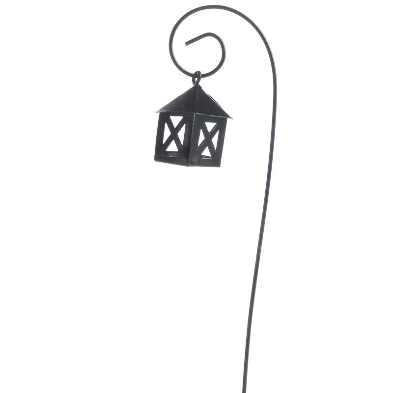 Miniature Lantern Light Post