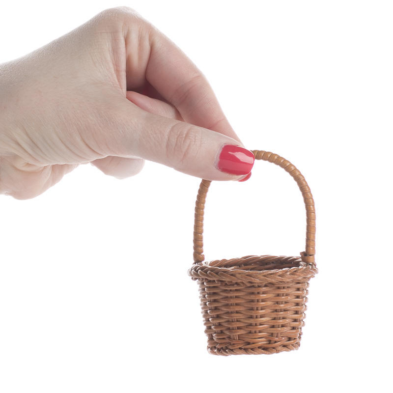 small wicker basket miniatures sale sales. Black Bedroom Furniture Sets. Home Design Ideas