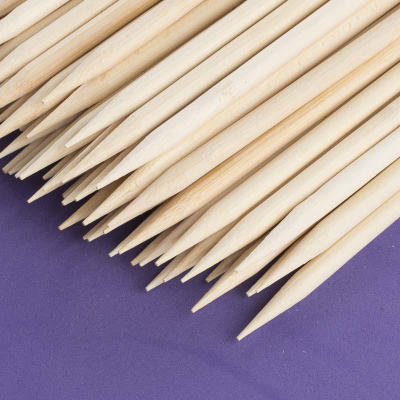 Natural Bamboo Skewers Kitchen Utensils Kitchen And