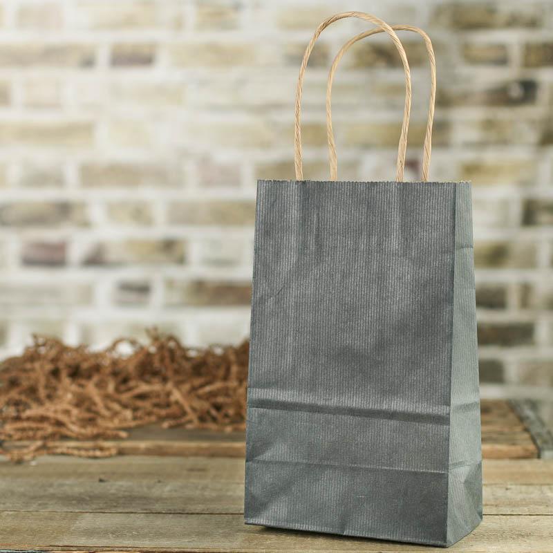 Slate paper gift bag bags basic craft supplies craft for Craft paper gift bags