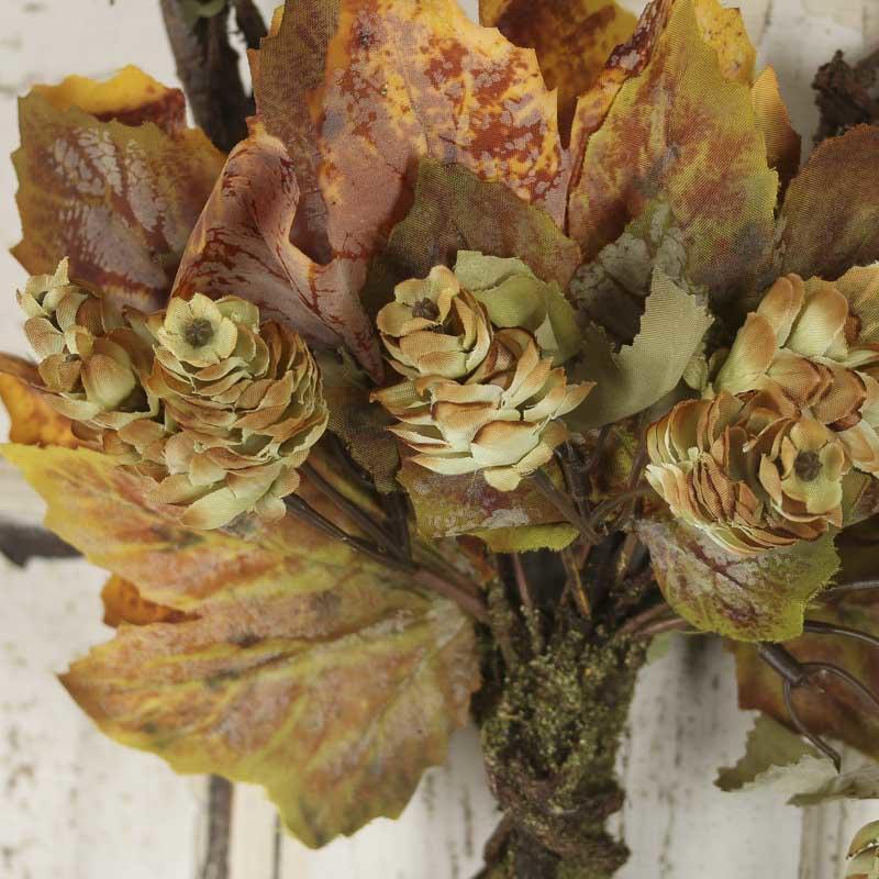 Artificial grape leaf and hops vine teardrop wall decor for Artificial hops decoration