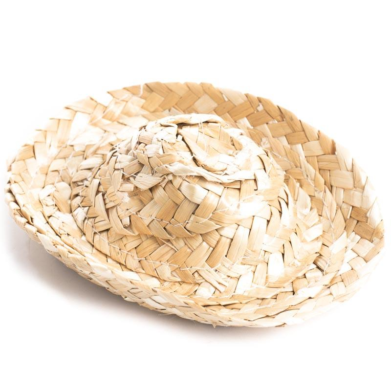 Miniature Straw Cowboy Hats - Doll Hats - Doll Making Supplies - Craft  Supplies 979eb18853d2