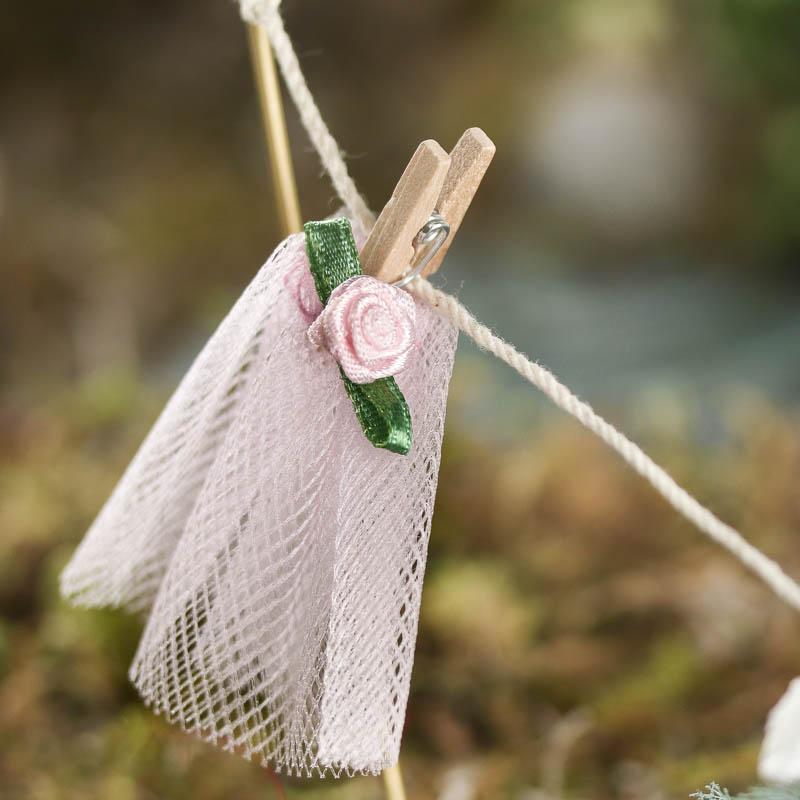 Gnome Garden: Miniature Fairy Clothesline