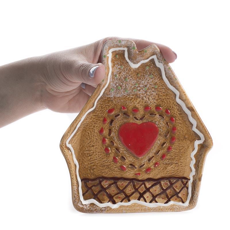 Ceramic Gingerbread Decorative Plate