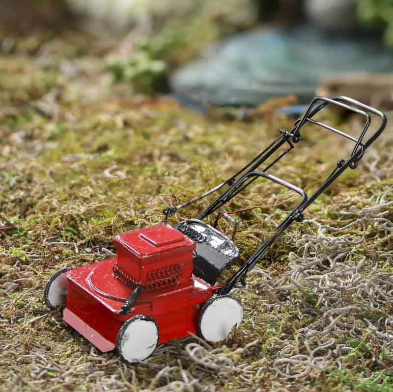Dollhouse Miniature Lawn Mower New Items