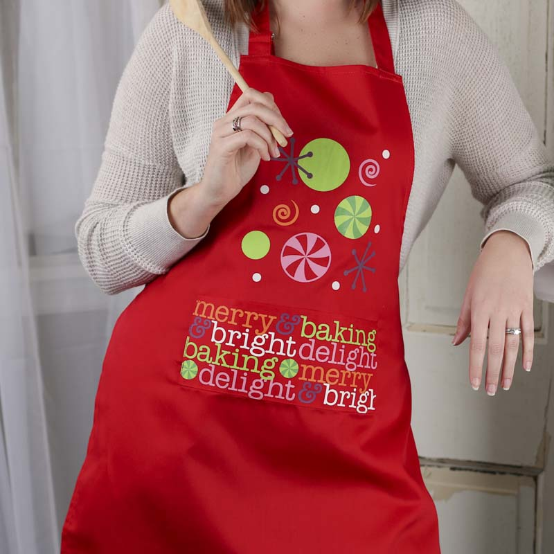 click here for a larger view - Christmas Apron