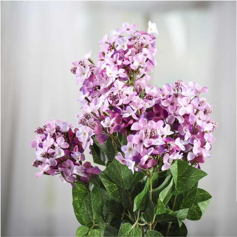 Artificial Lilac Bush Bushes And Bouquets Floral