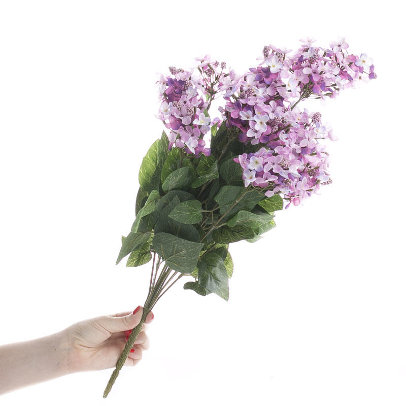 Artificial Lilac Bush Bushes Bouquets Floral