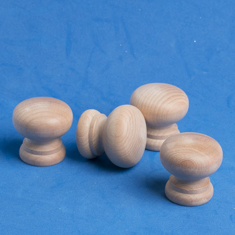 Unfinished Wood Knobs Wooden Balls And Ball Knobs Wood