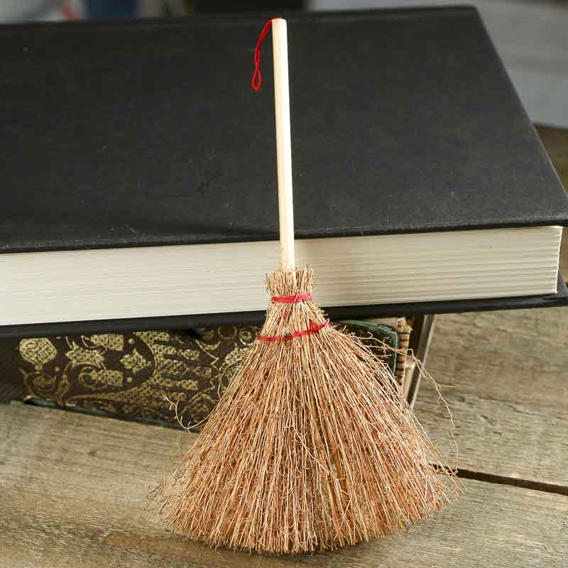 miniature straw broom miniatures sale sales