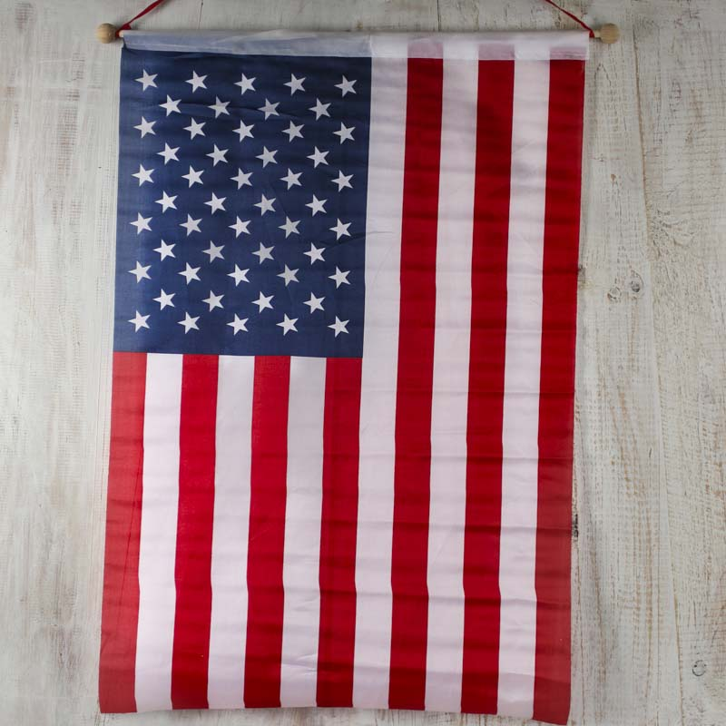 American flag banner americana decor home decor for American flag decoration
