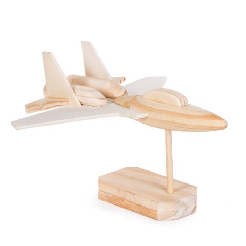 Wooden Model Fighter Jet Kit