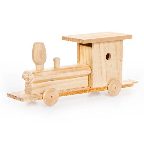 Wooden Model Train Kit