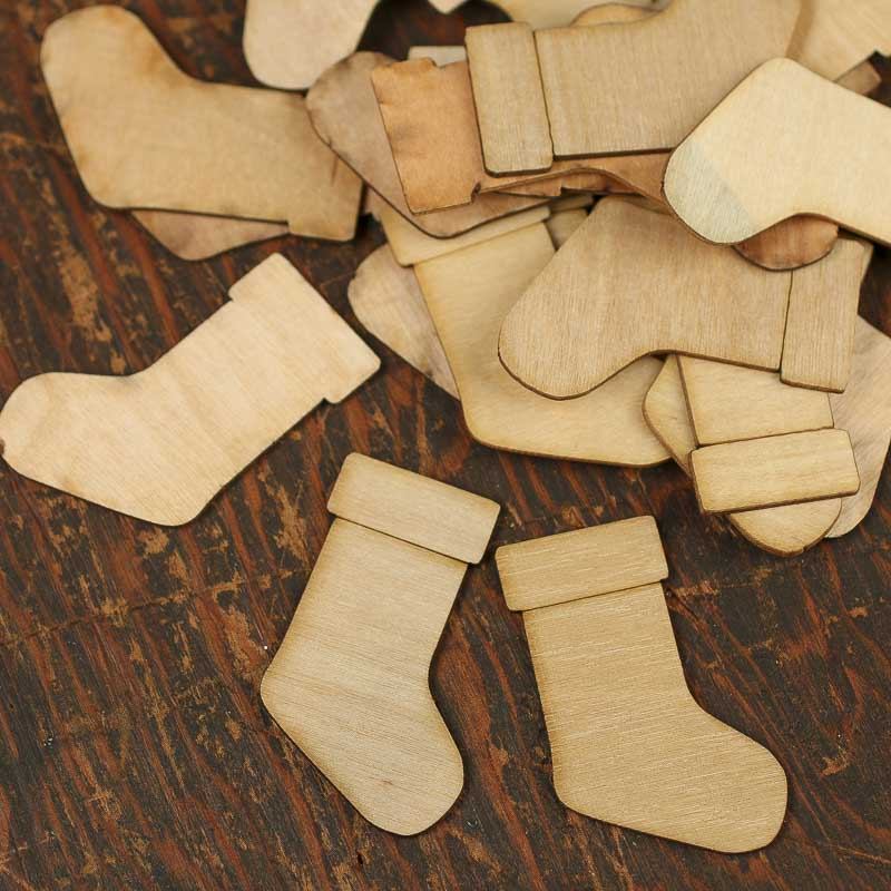 Wooden Stocking 121