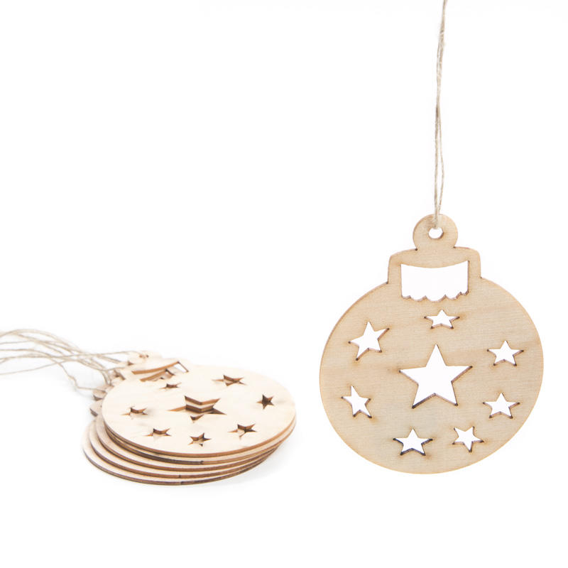 Unfinished Round Ornament Wood Cutouts - Christmas ...