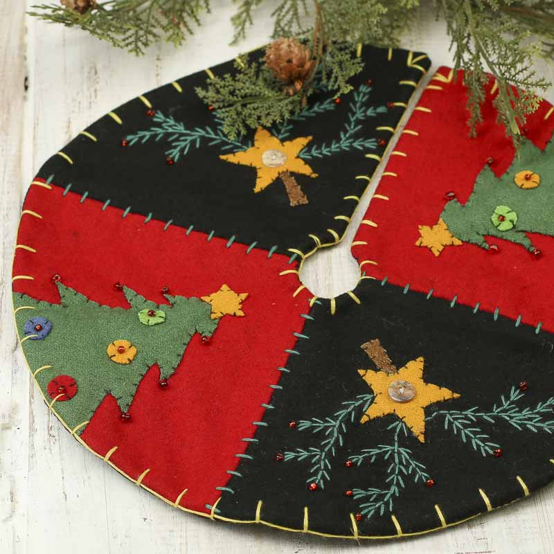 click here for a larger view - Small Christmas Tree Skirts
