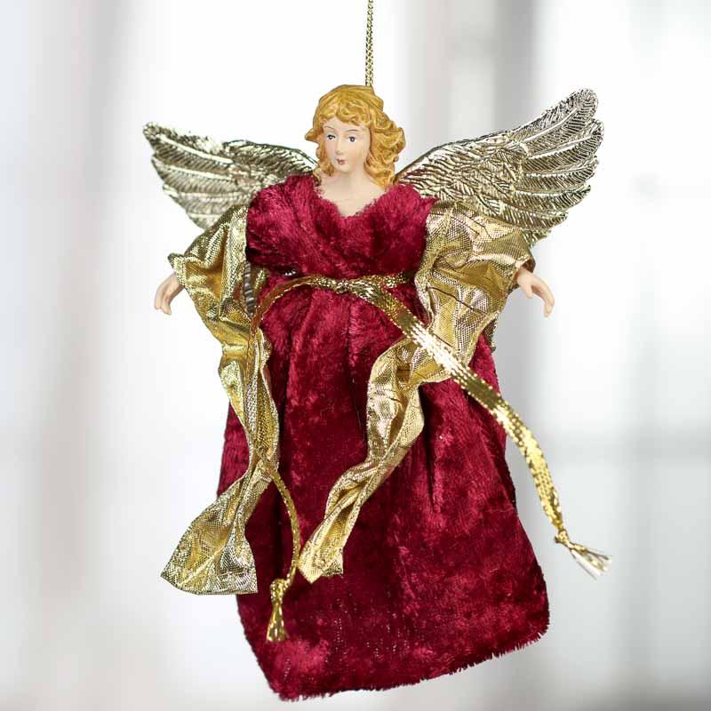 Small Angel Christmas Tree Topper: Celestial Angel Tree Topper