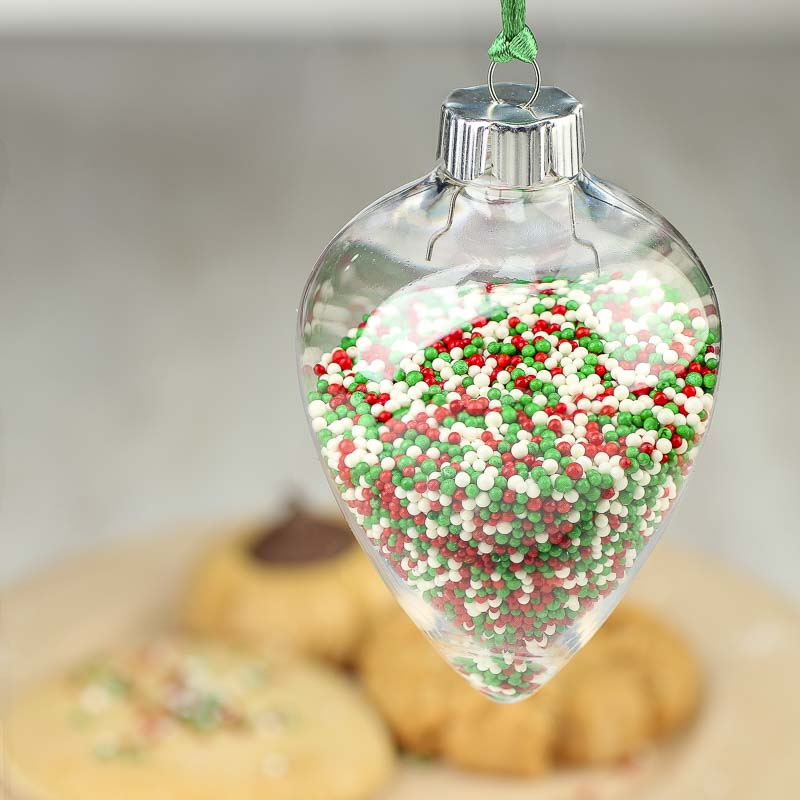 clear acrylic christmas ornament acrylic fillable