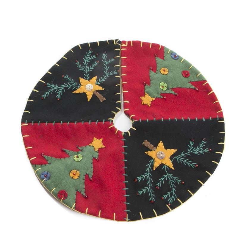 Western Christmas Tree Skirts
