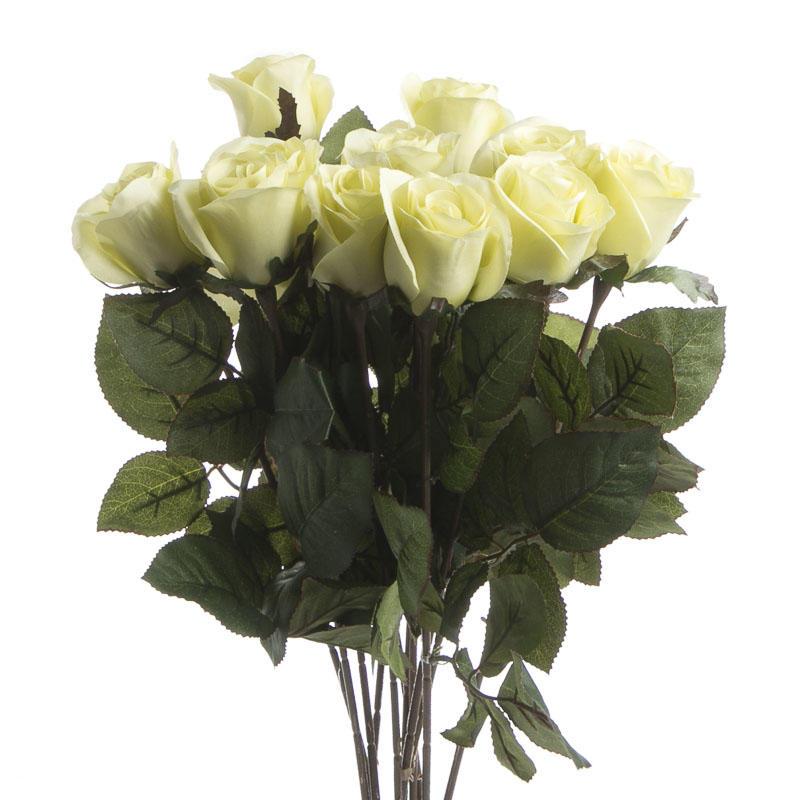 Dozen Artificial Long Stem Roses Picks And Stems