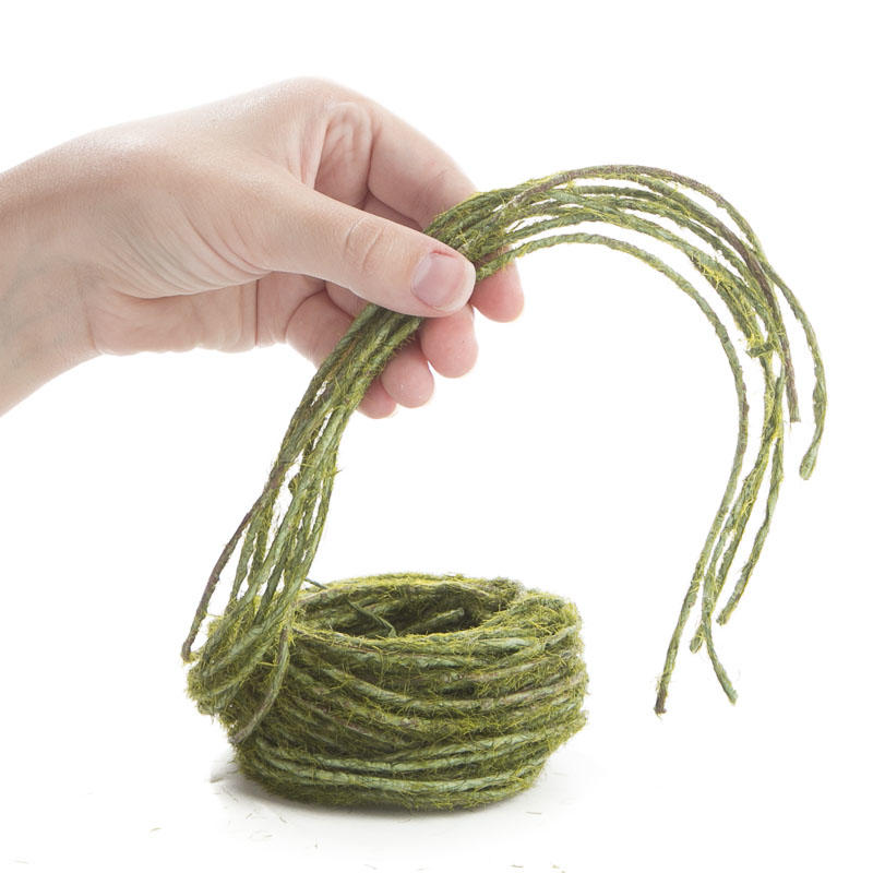 Artificial moss vine rope wire rope string basic for Vine craft ideas