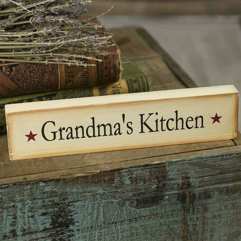 """grandma's Kitchen"" Chunky Wood Block Sign  Table Decor. Danze Kitchen Faucet Reviews. Stainless Steel Farmhouse Kitchen Sinks. Coca Cola Kitchen Accessories. Boos Kitchen Islands Sale. Waverly Kitchen Curtains And Valances. The Spanish Kitchen. Printed Kitchen Towels. Kitchen Fume Hood"