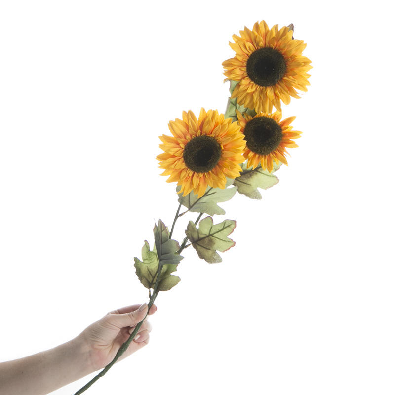 Artificial Sunflower Stem Picks And Stems Floral