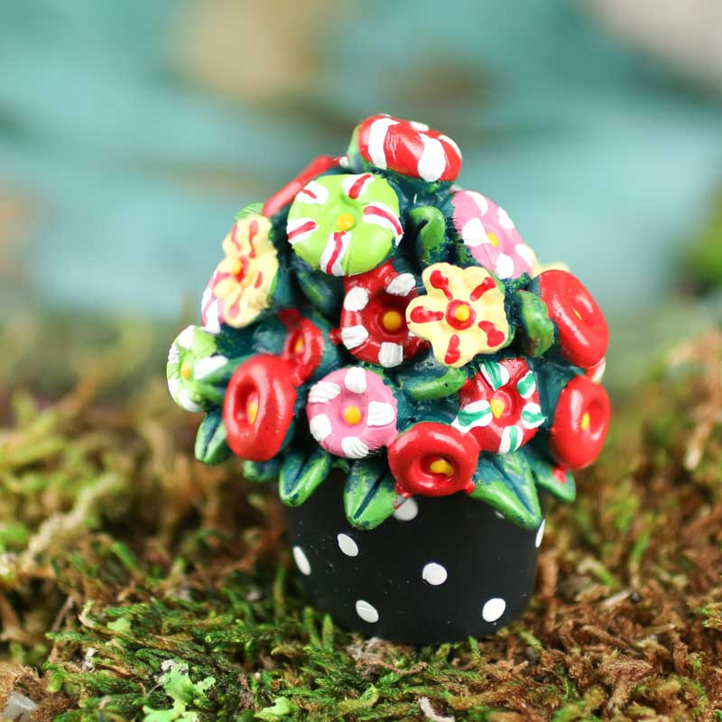 Click Here For A Larger View & Miniature Potted Flowers - Fairy Garden Supplies - Craft Supplies