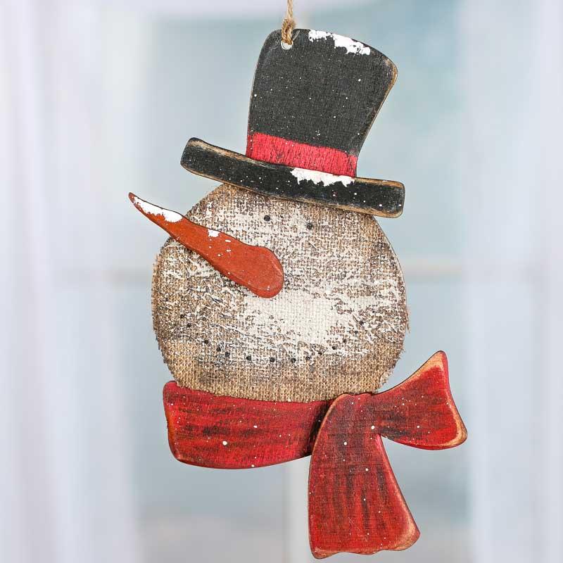 Primitive Christmas Wall Decor : Primitive rustic snowman decoration wall art christmas