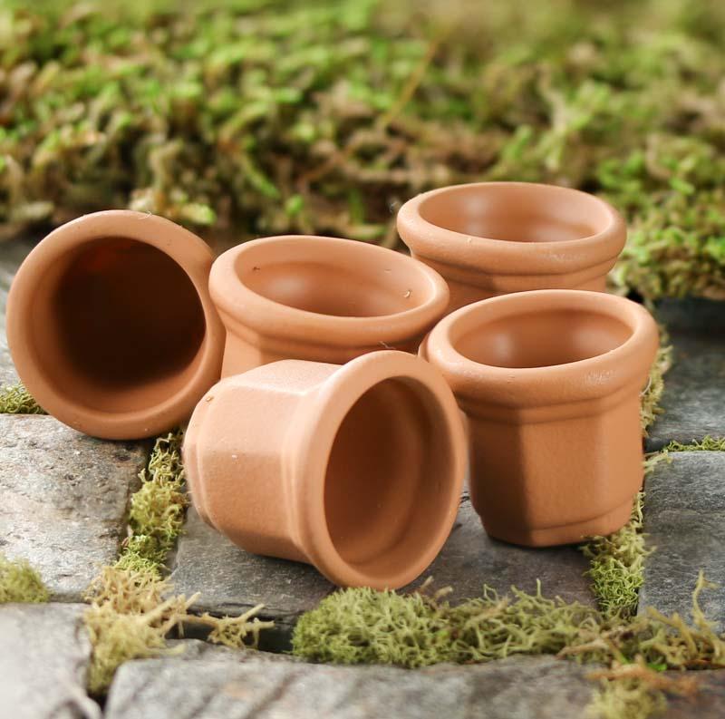 miniature terra cotta flower pots what 39 s new craft supplies. Black Bedroom Furniture Sets. Home Design Ideas
