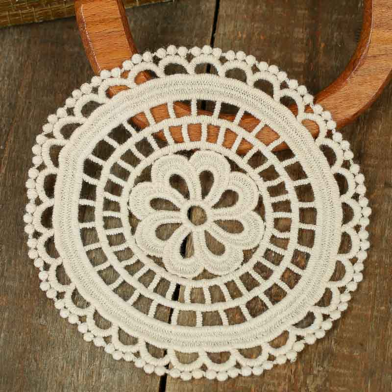 Ivory Round Crocheted Doilies Crochet And Lace Doilies