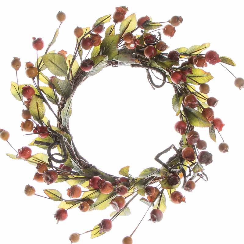 Fall artificial berry and twig wreath on sale holiday for Craft wreaths for sale