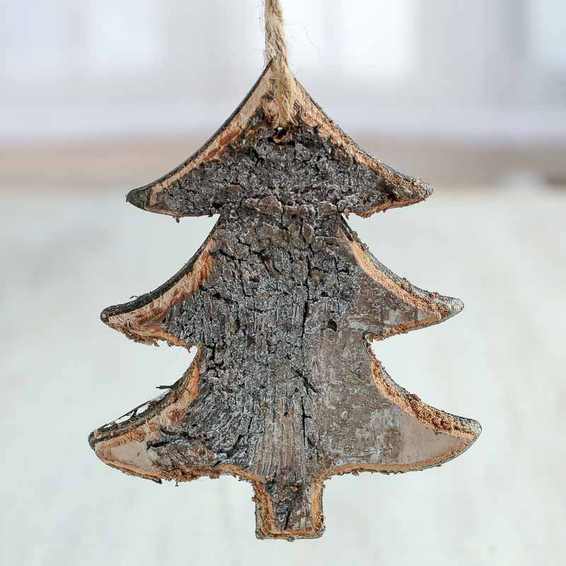 Rustic Birch Tree Ornaments - Christmas and Holiday ...