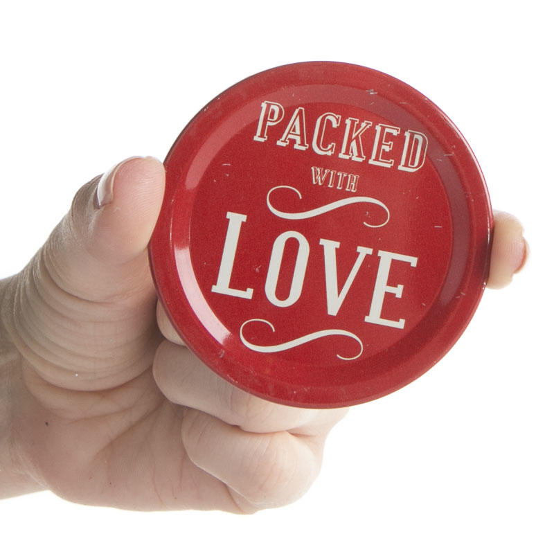 Printed Canning Jar Lid Inserts18 Pieces