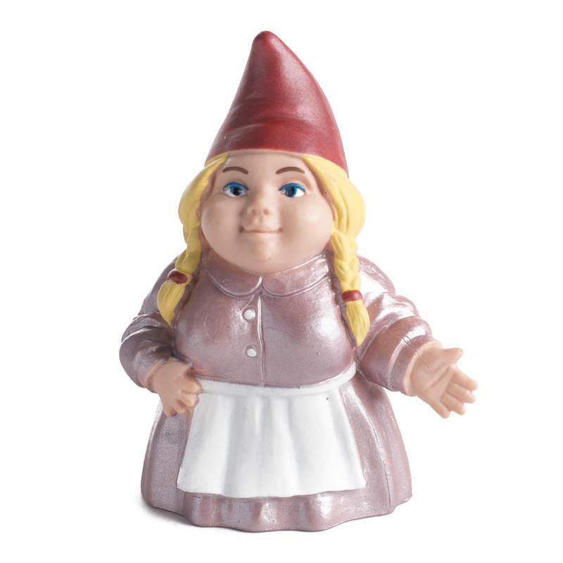 Female Garden Gnomes: Miniature Lady Garden Gnome