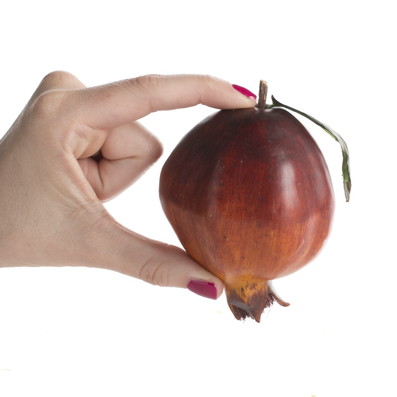 Artificial pomegranate what 39 s new home decor for Artificial pomegranate decoration