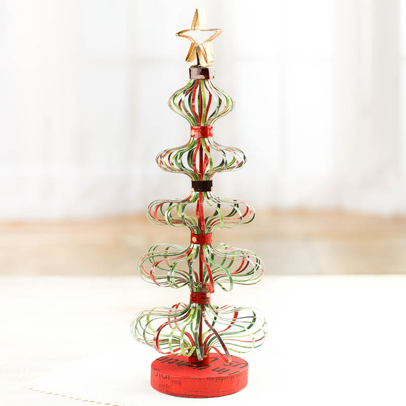 Whimsical Christmas Trees Ideas: Whimsical Repurposed Christmas Tree